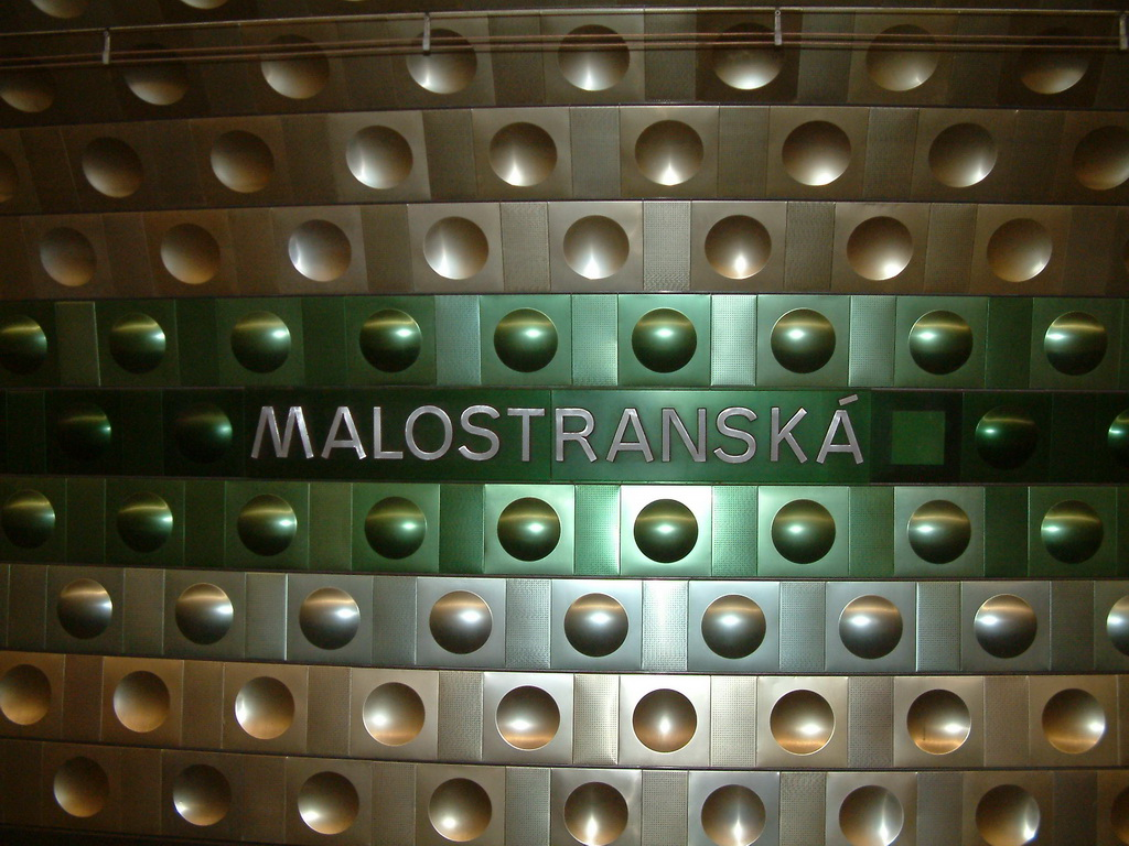Malostranska subway station, Prague, CZ
